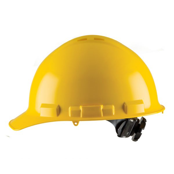 YELLOW CAP-STYLE, VENTED