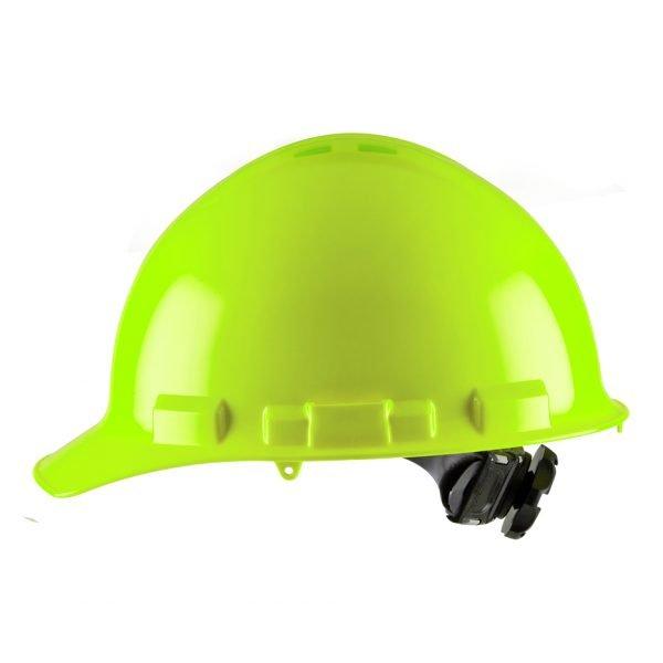 HI-VIS GREEN CAP-STYLE, VENTED