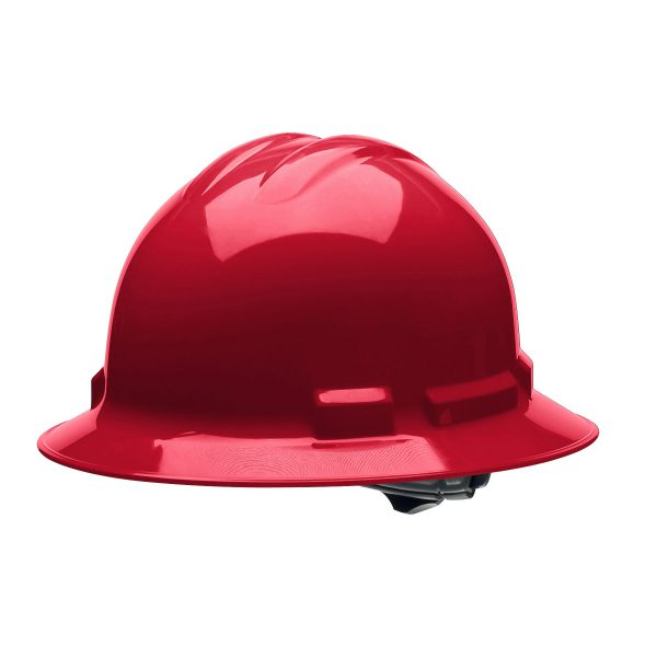 RED FULL-BRIM