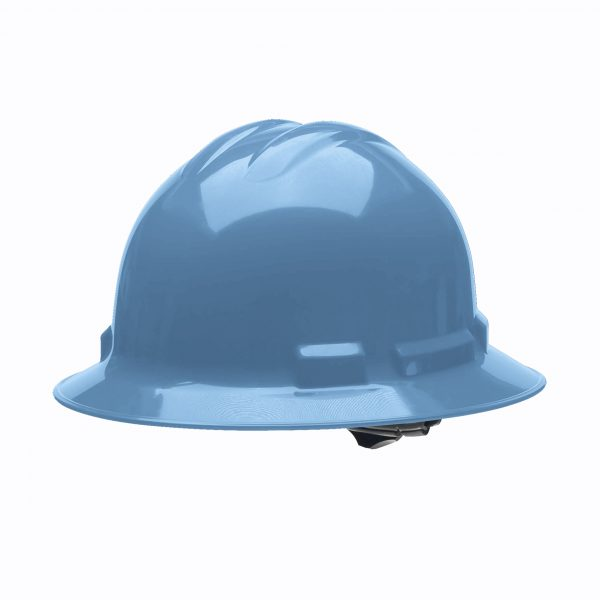 BLUE FULL-BRIM