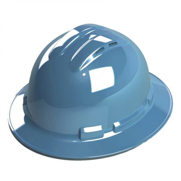 BLUE FULL-BRIM, VENTED