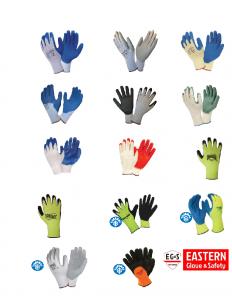 Coated Machine Knit Gloves