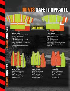 Hi Vis Safety Apparel